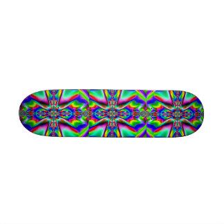 Eu sou Blessed_ Skateboard_by Elenne Boothe Shape De Skate 21,6cm