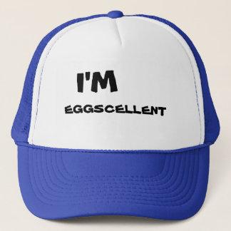 Eu sou boné do camionista de Eggscellent