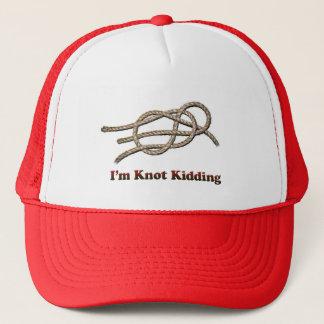 Eu sou caçoar do nó - chapéu dos camionistas boné