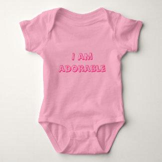 Eu sou camisa adorável de t