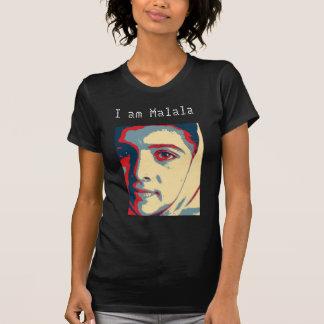 Eu sou camisa de Malala Camisetas