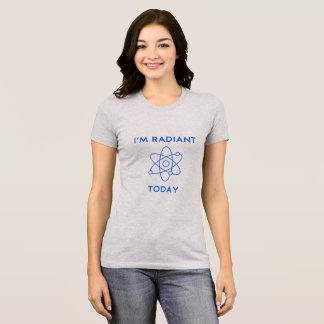 Eu sou camisa Geeky de hoje brilhante