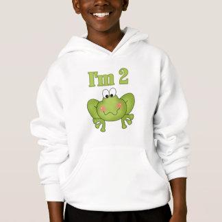 Eu sou camiseta e presentes Dois-Verdes do sapo