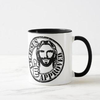 Eu sou caneca de café aprovada Jesus
