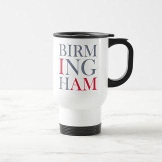 Eu sou caneca de viagem de Birmingham