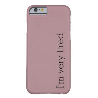 Eu sou capas de iphone muito cansados