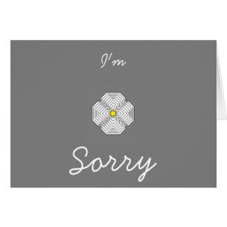 Eu sou cartão pesaroso