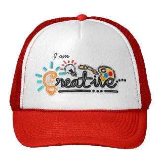Eu sou chapéu criativo bones