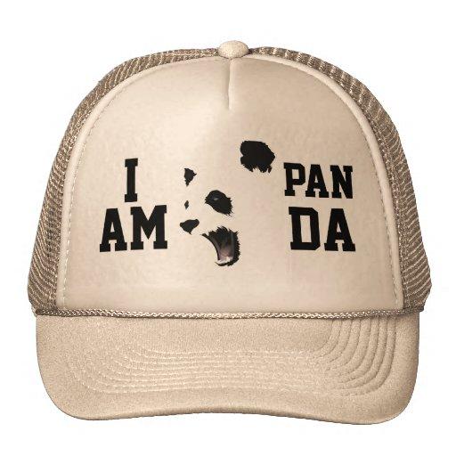 EU SOU chapéu do camionista da PANDA Bonés