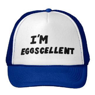 Eu sou chapéu do camionista de Eggscellent Boné