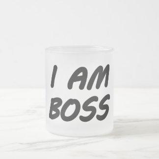 Eu sou chefe canecas