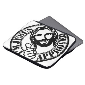 Eu sou cobrir aprovado Jesus do laptop Capa De Computador Notebook