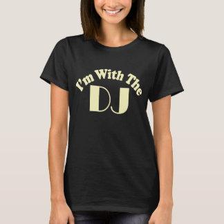 Eu sou com a obscuridade da camisa do DJ T