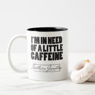 Eu sou com necessidade de pouca caneca da cafeína