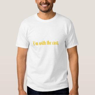 Eu sou com o molde tshirt