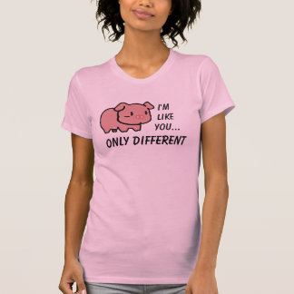 Eu sou como você t-shirt camiseta