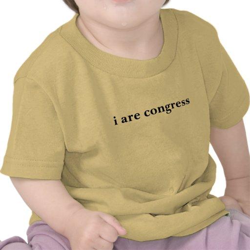eu sou congresso tshirt