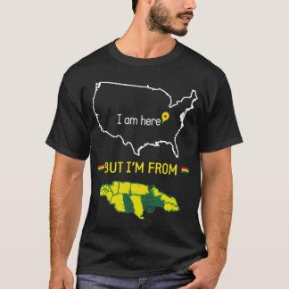Eu sou de Jamaica Camiseta