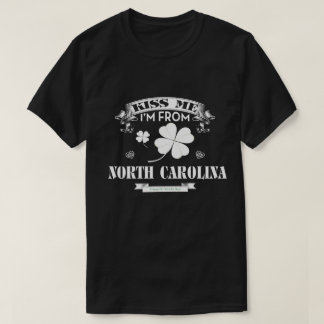 Eu sou de NORTH CAROLINA. Camisa do presente