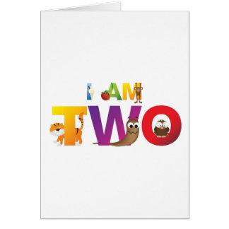 eu sou dois cartao