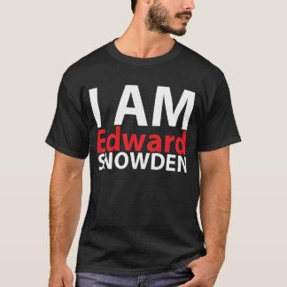Eu sou Edward Snowden Camiseta