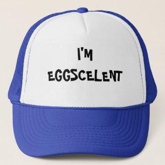 Eu sou Eggscelent Boné