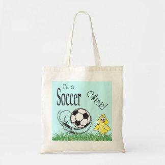 Eu sou esportes do pintinho um | do futebol sacola tote budget