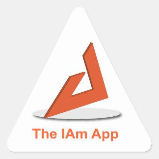 Eu sou etiqueta do triângulo