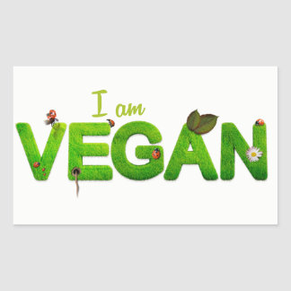 Eu sou etiqueta do Vegan