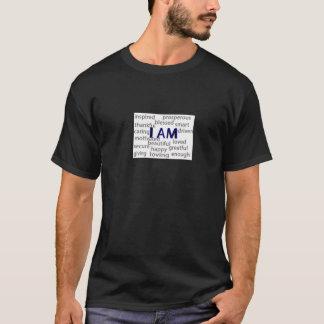Eu sou (evidente) camiseta