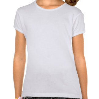 Eu sou finalmente uma figura menina da vara da camiseta