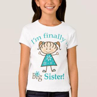 Eu sou finalmente uma figura menina da vara da tshirts