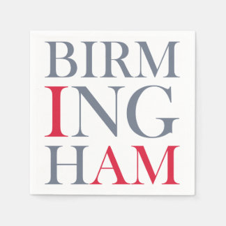 Eu sou guardanapo de Birmingham