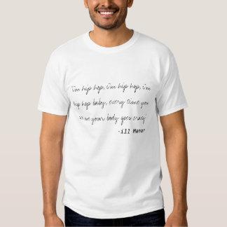"""""""Eu sou Hip Hop. """" Camiseta"""