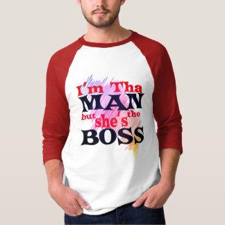 Eu sou HOMEM do tha mas é a camisa do CHEFE