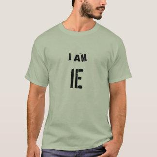 EU SOU IE (a engenharia industrial) Camiseta