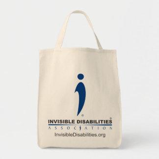 Eu sou invisível não mais - o bolsa do mantimento