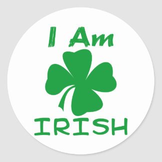Eu sou irlandês adesivo