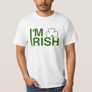 Eu sou irlandês camiseta