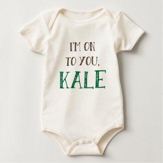Eu sou-lhe sobre, T da couve Body Para Bebê