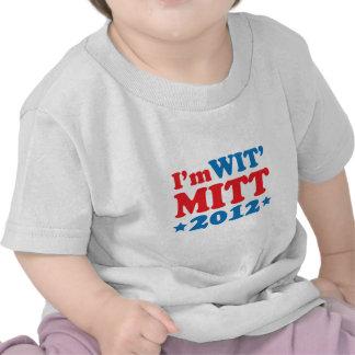 Eu sou LUVA da SAGACIDADE T-shirts