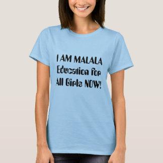 Eu sou Malala Camiseta