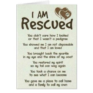 Eu sou melhor cartão salvado do pai do cão