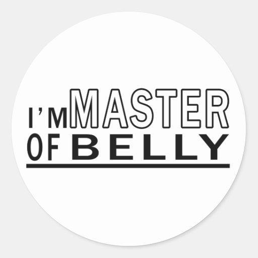 Eu sou mestre da dança do ventre adesivo