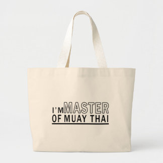 Eu sou mestre de tailandês de Muay Bolsas De Lona