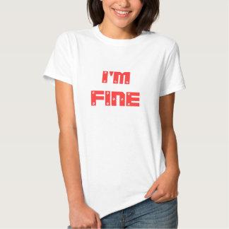 Eu sou MUITO BEM T-shirts
