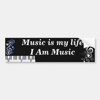Eu sou Music_ Adesivos