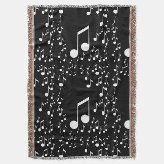 Eu sou Music_ Throw Blanket
