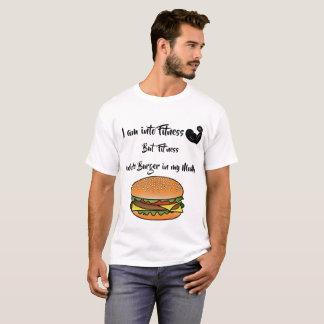 Eu sou na camisa engraçada do amante da comida da