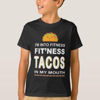 Eu sou no Taco da malhação em minha camisa do